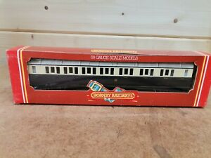 HORNBY R456 GWR COMPOSITE COACH CHOCOLATE/CREAM USED BOXED OO GAUGE