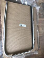 OEM VW Pre 64 Driver Side Window Scraper For Bug Chrome 113-853-322C