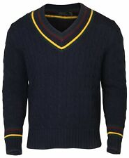 Polo RL Men's Iconic Cricket Cable Knit Pullover Sweater