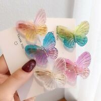 Colorful Butterfly Hairpin Hair Clip Female Hair Accessories Cute Barrette Girl/