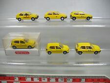 af191-0, 5 #6X Wiking H0 CAR MODEL VOLKSWAGEN VW Golf Post: 049 etc. , MINT