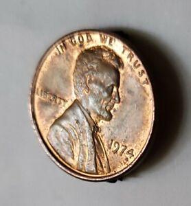 1974.  D/D/O  Lincoln Memorial error Penny.  🐌🐜🐚.