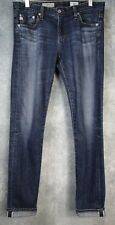 Rare Selvedge AG Adriano Goldschmied Stilt Jeans in 7 Year Diverge; 28