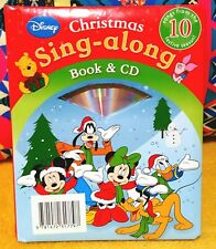 Disney Lovely set for the little ones christmas book and sing along disc new