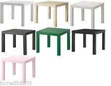 IKEA LACK Tavolino quadrato, comodino, colori vari a scelta