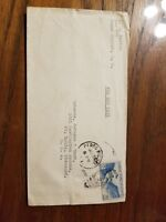 Canal Zone July 1947 air mail cover Box 179 Pedro Miguel to St. Louis, Missouri