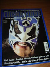 MAGAZINE BIG ONES revista ULTIMO GUERRERO historia del cuadrilatero wrestling