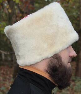 Cossack MOUTON FUR sheepskin Hat PAPAKHA