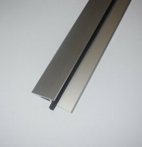 Bodenschwelle Türschwelle Türabdichtung Aluminium eloxiert mit Gummidichtung
