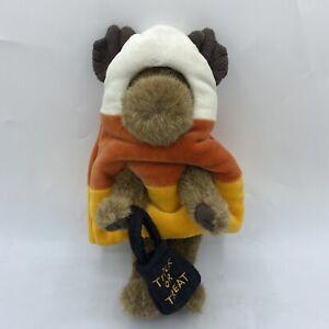 "Boyds Bears Moose Halloween Trick or Treat Candy Corn Costume Fall 8"" Plush"