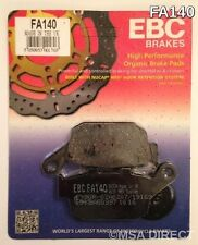 Honda NTV650 Revere (1988 to 1997) EBC Organic REAR Brake Pads (FA140) (1 Set)