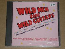 WILD MEN RIDE WILD GUITARS: ORIGINAL ROCKABILLY... - CD COME NUOVO (MINT)