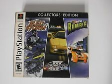 Sony Playstation 1 PS1 EA Racing Pack Collectors' Edition Sled Storm NFS Nascar