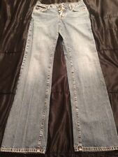 Lucky Brand Dungarees American Classic Jean Women's Size 4/27 Long