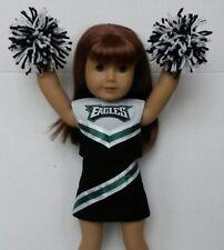"Doll Clothes fits American Girl Doll 18"" Dolls Philadelphia Eagles Cheerleader"