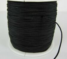 black 1.5mm 160M 175yard/lot Chinese knot tread Shamballa cord String Nylon Rope