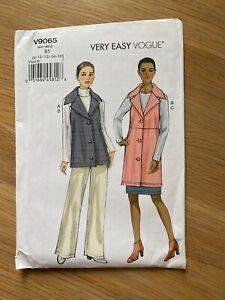 New Vogue Very Easy Sewing pattern Unused uncut V9065  Skirt Vest Pants Sz 8-16