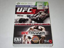 UFC Personal Trainer - 2 in 1 (Microsoft Xbox 360)