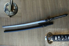 "41.25"" Full Tang Handmade Katana Dragon Samurai Sword with Ray Skin Handle"