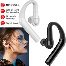 Wireless Bluetooth Headset Earpiece for Android Samsung Lg Nokia iPhone Huawei