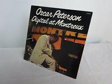 Vintage Vinyl LP Oscar Peterson Digital At Montreux 1980 Pablo Live D2308224 Red