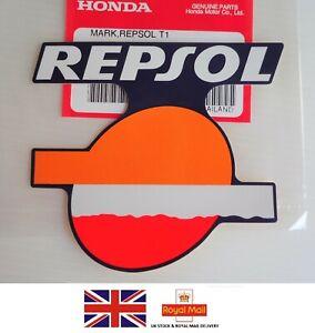 HONDA GENUINE REPSOL STICKER DECAL CBR CBR125 CBR250 CBR600 CBR1000 FIREBLADE