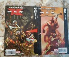 Ultimate X-Men #75 76 Nm- Michael Turner Cvr 1St Ultimate Cable 1 App Comic