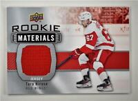 2019-20 Series 2 Rookie Materials #RM-TH Taro Hirose - Detroit Red Wings