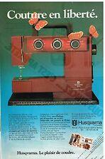 Publicité Advertising 1979 La machine à coudre Husqvarna