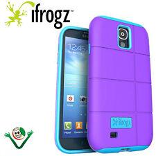 Custodia rigida 2 strati COCOON iFrogz per Samsung Galaxy S4 i9505 cover VIOLA