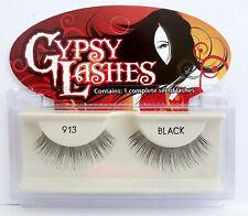 NIB~ GYPSY #913 FALSE EYELASHES Fake Lashes Black Natural Falsies Strip