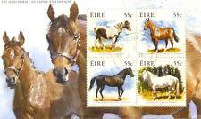 Ireland-Horses-Min sheet fine used(2090)