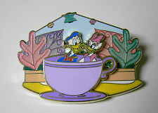 Donald & Daisy on Fantasyland MOVEABLE TEACUP Teacups Ride Disneyland DISNEY PIN