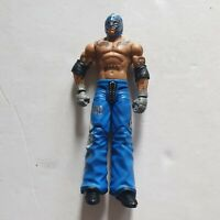 WWE REY MYSTERIO WRESTLING FIGURE BASIC SERIES 2 MATTEL 2010 COMBINED P&P