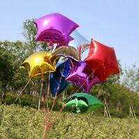5/10pcs Five-pointed Star 10''Helium Foil Balloon Party Wedding Birthday Decor