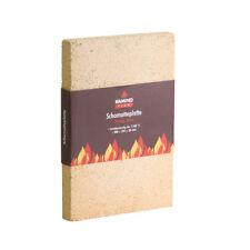 Kamino-Flam Schamotteplatte hitzebeständig bis 1250 C 30x20x3 cm Schamottstein