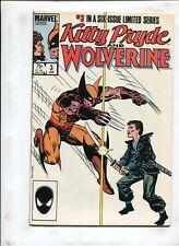 KITTY PRYDE & WOLVERINE #3 - DEATH! - (9.2) 1984