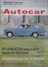 Autocar magazine 15/1/1965 featuring Chevrolet Chevelle Malibu road test, Mini