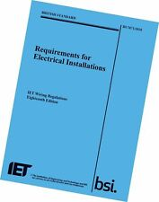 More details for iet 18th edition wiring electrical regulation book bs 7671:2018, 9781785611704