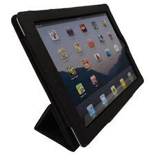 PU Leather Black Wake / Sleep Folio Stand Book Case Cover for Apple iPad 2 3 4