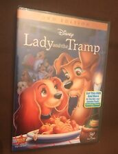 Lady and the Tramp (DVD Edition , 2012) Walt Disney  Brand NEW!
