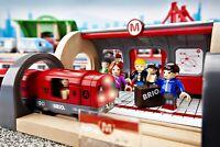 BRIO Metro Railway Set 20 Piece Train Toy with Accessories+tracks