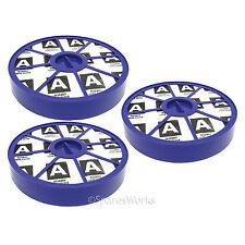 Post Motor Allergy HEPA Dust Filter Blue for Dyson DC04 DC05 DC08 Vacuum x 3
