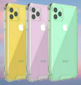CLEAR Shockproof Case For iPhone 12 13 PRO MAX Mini 11 Pro XR XS 8 7 6 Silicone
