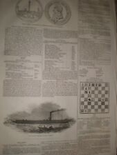 Her Majesty's River Steamer Fairy 1845 print ref D