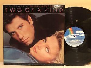 Two Of A Kind Soundtrack LP 1983 MCA-6127 Olivia Newton-John John Travolta