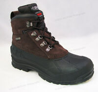 """Brand New Men's Winter Boots Leather 6"""" Insulated Waterproof Hiking Snow Shoes"""