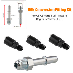 6AN Conversion Connector For C5 Corvette Fuel Pressure Regulator/Filter-EFI/LS