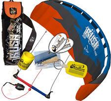 HQ Rush Pro V 350 3.5M 3 Line Trainer Kite Kiteboarding Foil Power Traction Surf