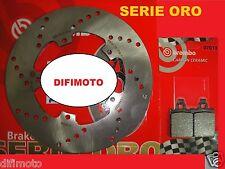 SET DISCO BREMBO+PASTILLAS DELANTEROS VESPA 125 PX 2001 2002 2003 2004 2005 722
